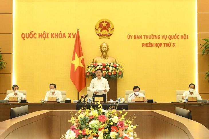 越南国会常委会审议一系列重要问题 - ảnh 1