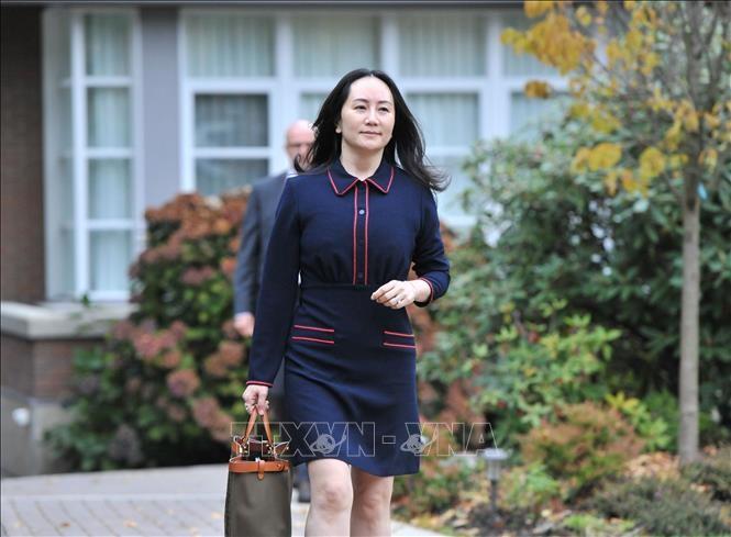 中国华为集团首席财务官可以自由离开加拿大 - ảnh 1