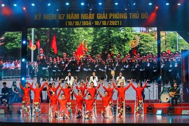 首都解放日:雄壮的河内之歌 - ảnh 1