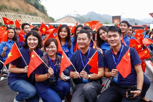 60名青年代表将参加2021年越中青年友好会见活动 - ảnh 1