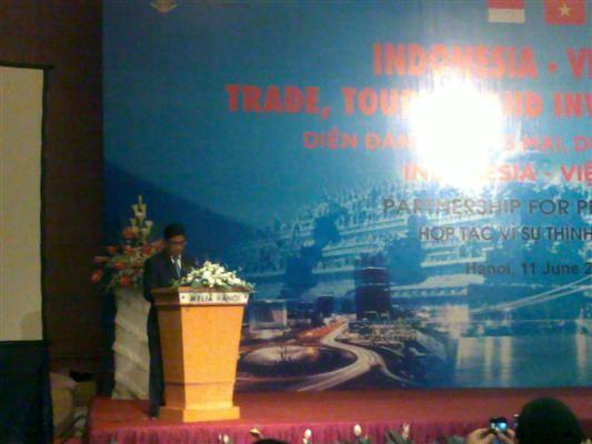 Pembukaan Forum Promosi Perdagangan, Pariwisata, Investasi Vietnam – Indonesia - ảnh 2