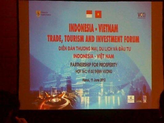 Pembukaan Forum Promosi Perdagangan, Pariwisata, Investasi Vietnam – Indonesia - ảnh 1