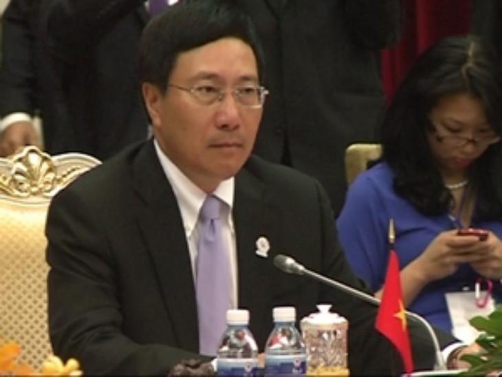 Pembukaan Konferensi  ke-45 Menlu ASEAN  di Kamboja - ảnh 2