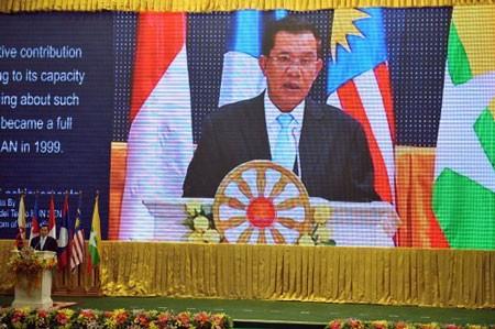 Pembukaan Konferensi  ke-45 Menlu ASEAN  di Kamboja - ảnh 1