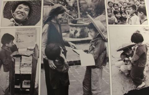 Pameran foto  tentang anak-anak pada masa perang - ảnh 2