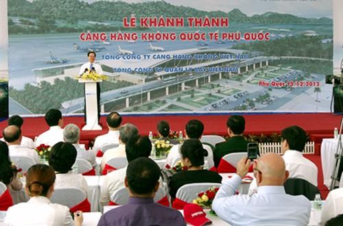 Acara peresmian Bandara Internasional Phu Quoc - ảnh 1