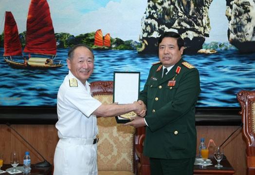 Kerjasama pertahanan Vietnam – Jepang - ảnh 1