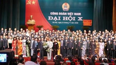 Sahabat-sahabat internasional menyampaikan ucapan selamat atas penyelenggaraan Kongres Serikat Buruh Vietnam - ảnh 1