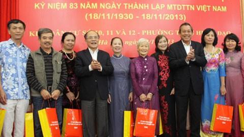 Bersatu padu menciptakan kekuatan seluruh bangsa Vietnam - ảnh 1