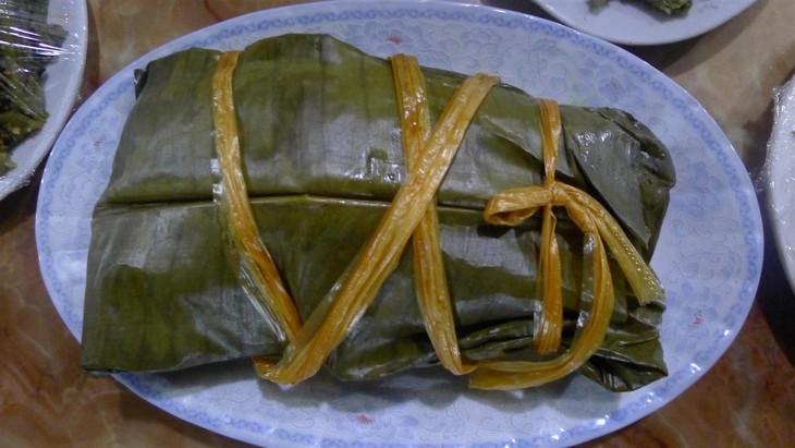Kuliner rakyat etnis minoritas Thai di kabupaten Muong Lay, provinsi Dien Bien - ảnh 2