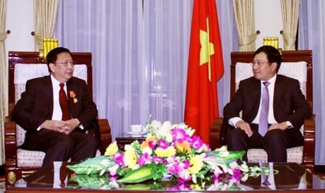Deputi PM Pham Binh Minh menerima Duta Besar Thailand yang datang berpamitan - ảnh 1