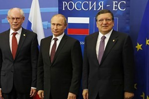 Uni Eropa dan Rusia berkomitmen mengembangkan hubungan kemitraan istimewa - ảnh 1