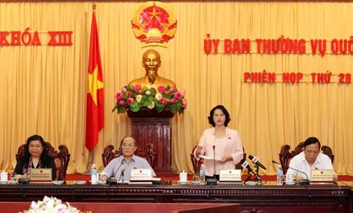 Penutupan persidangan ke-29 Komite Tetap MN Vietnam - ảnh 1
