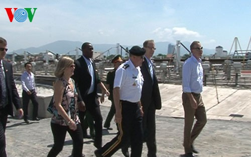 Amerika Serikat membantu Vietnam membersihkan dioxin di bandara Da Nang - ảnh 1