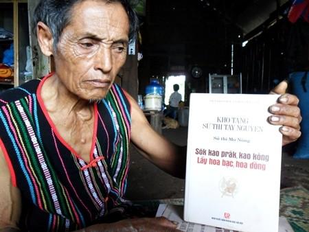 Mengkonservasikan epos etnis minoritas M'Nong - ảnh 2