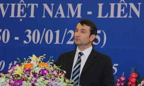 Memperingati ultah ke-65 penggalangan hubungan diplomatik Vietnam-Rusia - ảnh 1