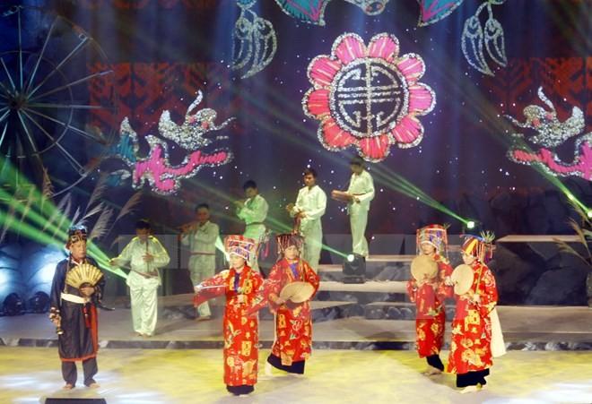 Pembukaan Festival Lagu Rakyat Vietnam daerah Vietnam Selatan - ảnh 1