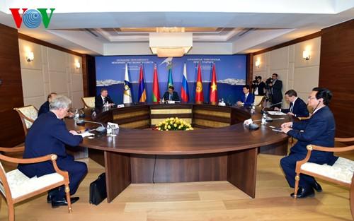 FTA Vietnam-Persekutuan Ekonomi Asia-Eropa: Terobosan  dalam  hubungan ekonomi-perdagangan - ảnh 1