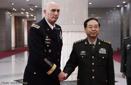 Amerika Serikat dan Tiongkok membangun mekanisme dialog militer - ảnh 1
