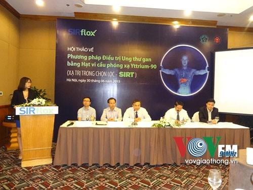 Vietnam untuk pertama kalinya menerapkan metode baru dalam pengobatan kanker hati - ảnh 1