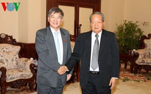 Vietnam dan Laos terus memperkuat kerjasama di pekerjaan inspektorat - ảnh 1