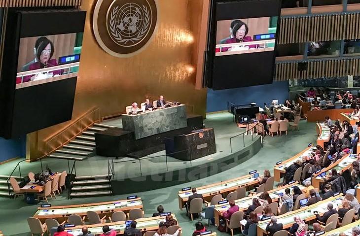 Pembukaan Konferensi tingkat tinggi PBB tentang pemberdayaan perempuan - ảnh 1