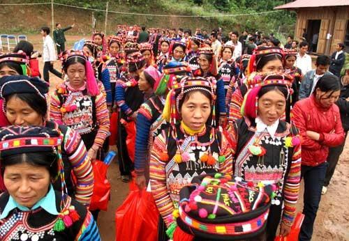 Warga etnis minoritas Ha Nhi di tengah-tengah komunitas etnis Vietnam - ảnh 1