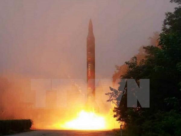 Republik Korea dan Jepang sepakat bekerjasama untuk menghadapi kasus peluncuran rudal yang dilakukan RDRK - ảnh 1