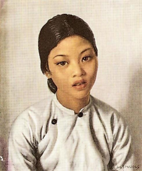 Une collection de portraits de femmes vietnamiennes conservée aux États-Unis - ảnh 5