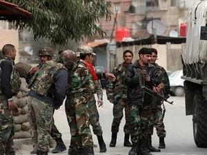 Syrische Armee erobert wichtigen Stadtteil von Homs - ảnh 1