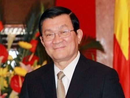 Staatspräsident Sang trifft neue Botschafter - ảnh 1