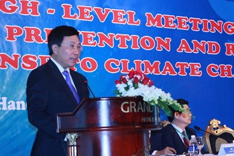 ASEM-Konferenz zum Kampf gegen Klimawandel - ảnh 1