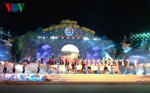 Eröffnung der nationalen Kultur- und Tourismuswoche 2015 in Thanh Hoa - ảnh 1