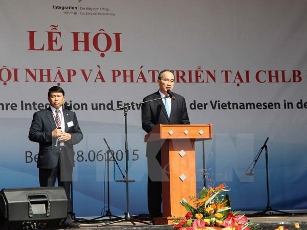 40jährige Integration und Entwicklung der Vietnamesen in Deutschland - ảnh 1