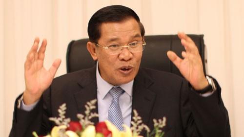 Hun Sen: Verleumder über Grenzverlauf hart bestraft - ảnh 1