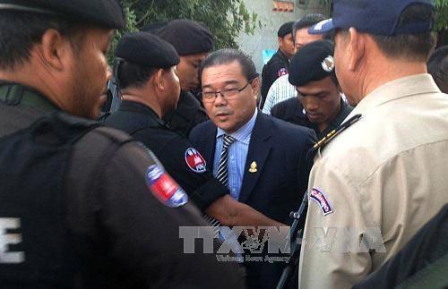 Hun Sen unterstützt Festnahme des Verleumders aus der Opposition - ảnh 1