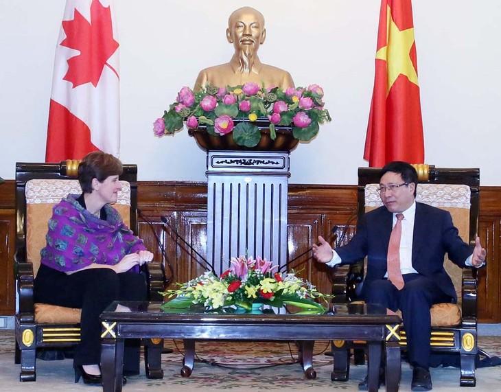 Kanadas Ministerin für internationale Entwicklung und Frankophonie besucht Vietnam - ảnh 1