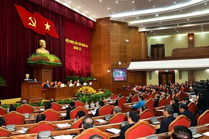 Der 5. Sitzungstag des Zentralkomitees der KPV - ảnh 1