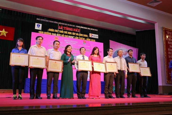"""Verleihung des Wettbewerbs """"Lernen und arbeiten nach dem Vorbild Ho Chi Minhs"""" - ảnh 1"""