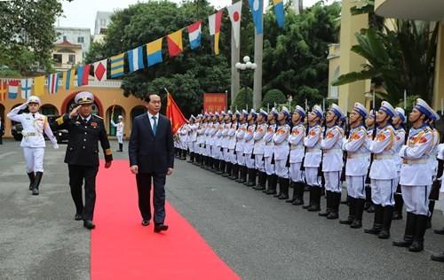 Staatspräsident Tran Dai Quang besucht Haiphong - ảnh 1