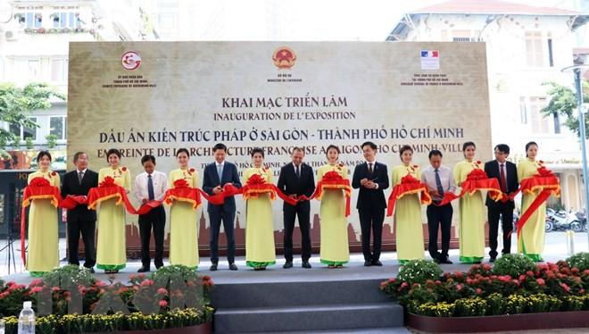 """Ausstellung """"Eindrücke französischer Architektur in Saigon – Ho Chi Minh Stadt"""" - ảnh 1"""