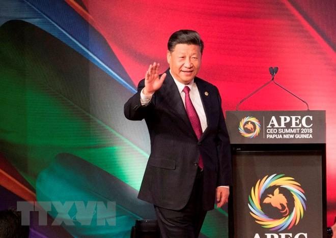 Chinas Staatschef Xi Jinping besucht Spanien - ảnh 1