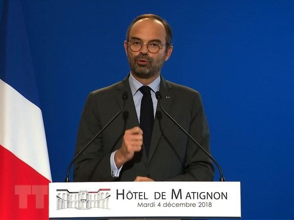 Frankreichs Premierminister Phillipe betont Dialoge und nationale Solidarität - ảnh 1