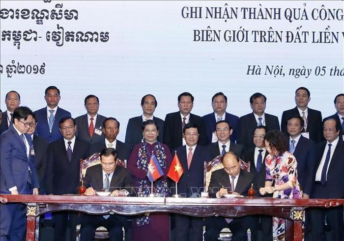 Vietnam und Kambodscha bewerten die Festlegung des Grenzverlaufs - ảnh 1