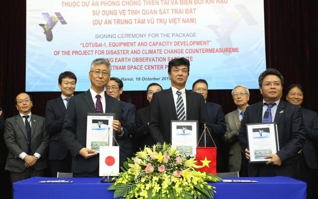 Vietnam beteiligt sich an Herstellung des Radarsatellits - ảnh 1