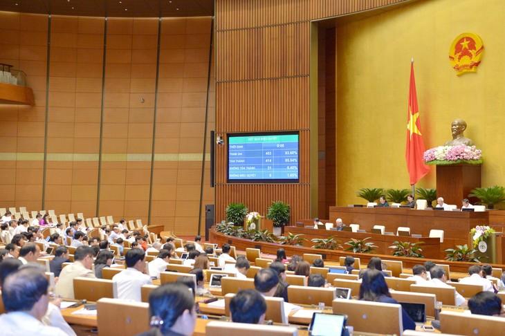 Parlament diskutiert den geänderten Börsengesetzesentwurf - ảnh 1
