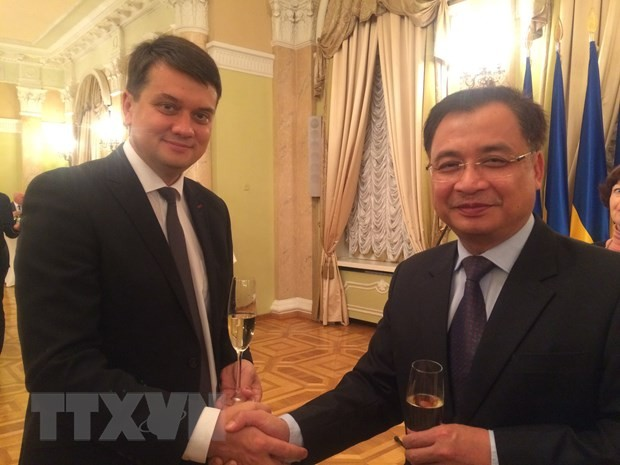 Parlamente Vietnams und der Ukraine wollen ihre Zusammenarbeit verstärken - ảnh 1