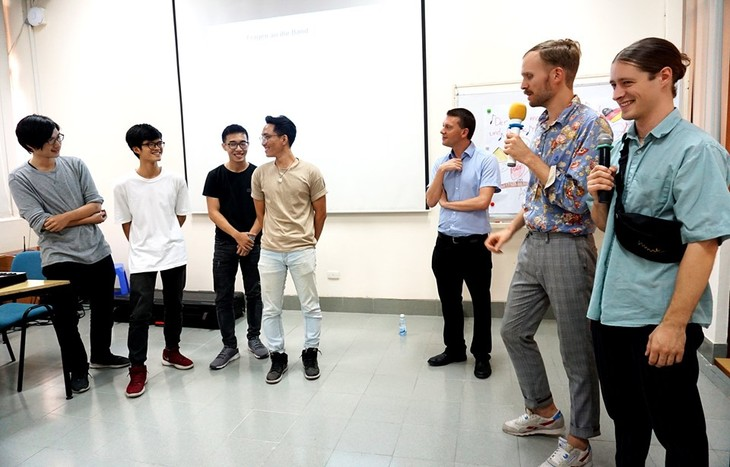Konzerttournee der deutschen Band AB Syndrom durch Vietnam: Förderung des Kulturaustauschs  - ảnh 1