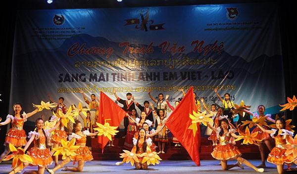 Die besondere Freundschaft zwischen Vietnam und Laos - ảnh 1