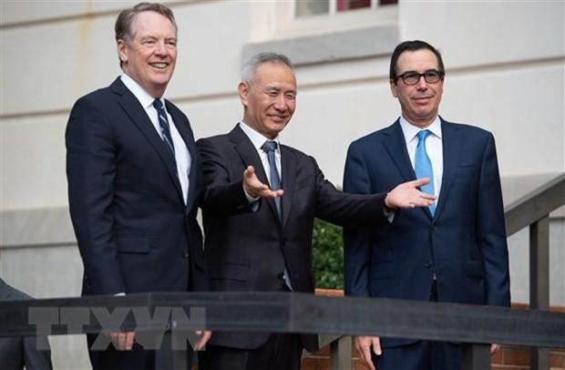 USA und China melden Fortschritte bei Handelsverhandlungen - ảnh 1